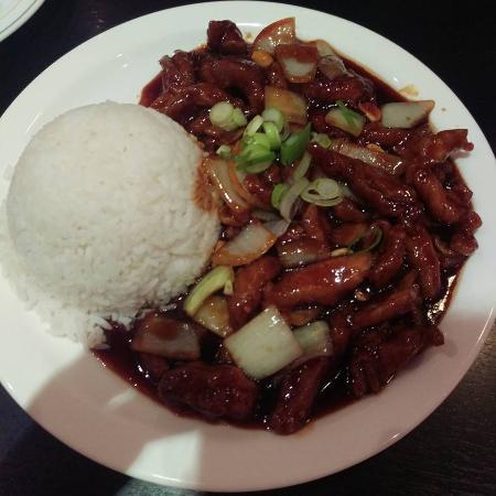 KK Malaysian Restaurant: Kung Po Chicken