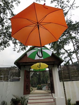 Lucban, Philippines: Entrance to the Resort