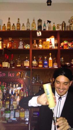El Bar Bero Carlos (Owner) Dressed up like John Travolta from Pulp Fiction  sc 1 st  TripAdvisor & Great Halloween costumes at El Bar Bero - Picture of El Bar Bero ...