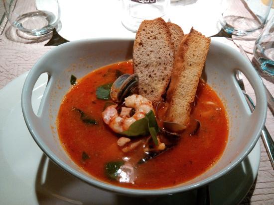 Ristorante La Casa dei Capitani : zuppa di pesce senza lische