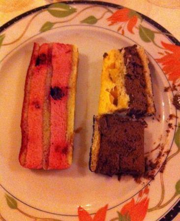 Hotel Restaurant du Bourbonnais : Duo de dessert