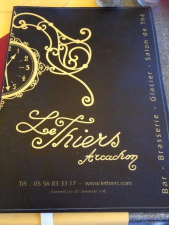Le Thiers: Le sigle du restaurant