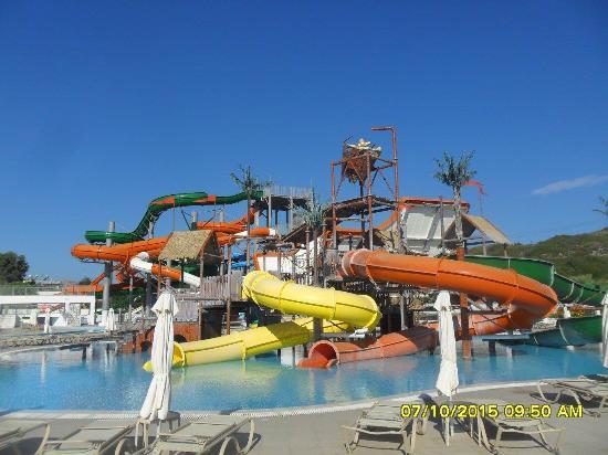 Splashworld - Picture of Sun Palace Hotel, Faliraki - TripAdvisor
