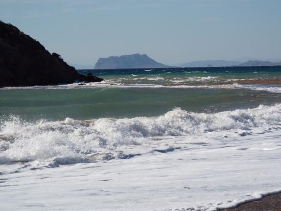 Torre del cabo Cope: Cabo Cope from near Puerto Mazarron