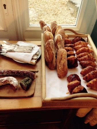 Nieul, Франция: Завтрак