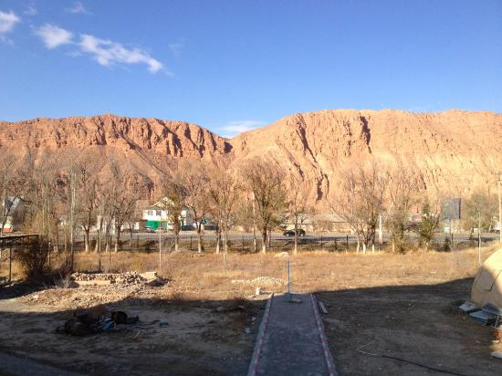 The Blue Mosque in Naryn