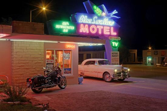 Welcome to the Blue Swallow Motel!
