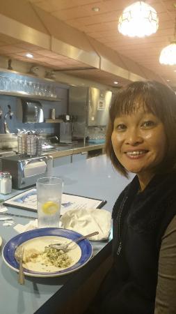 Apalachin, Nova York: Ninny Ruata Barnes, my wife