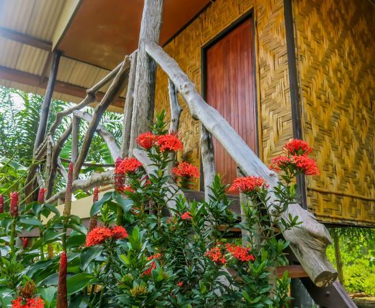 Sea Sun Bungalow: Bamboo Room