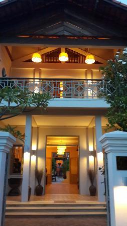 Bambu Battambang Hotel: Entrance