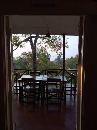 Casa Rossa: Outside dining area