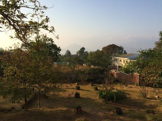 Casa Rossa: View from the verandah