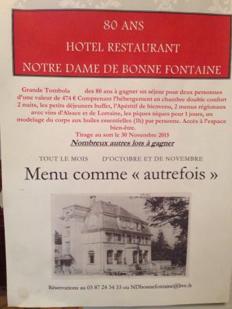 Hotel Notre-Dame de Bonne Fontaine