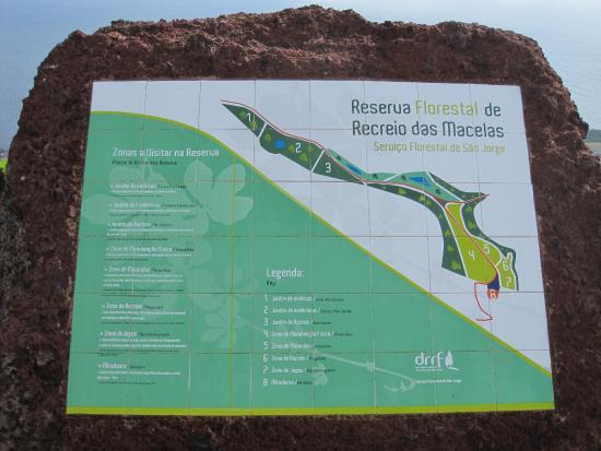 Reserva Florestal de Recreo de Macelas: Заповедник