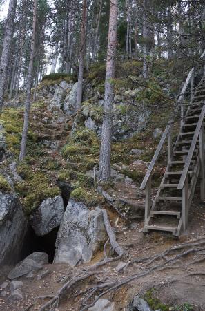 Koli National Park, Finlandia: Pirunkirkko Cave