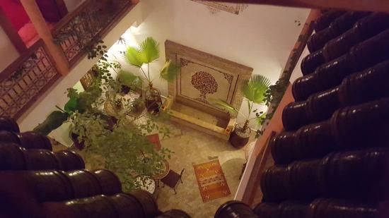 Riad Dar Alsaad: Innenhof