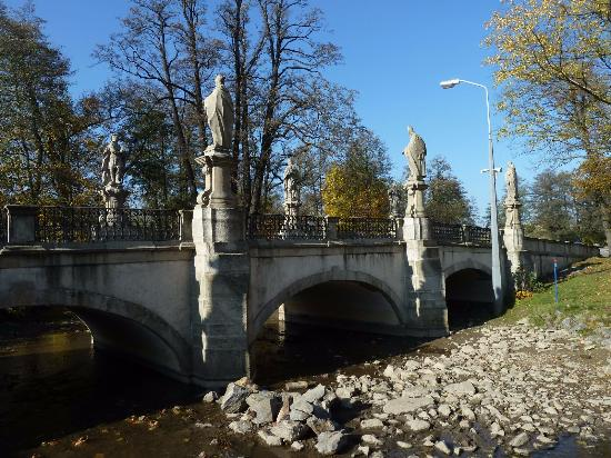 Baroque Bridge in Zdar nad Sazavou