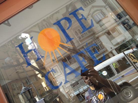 Hope Café: Hope cafe entrance
