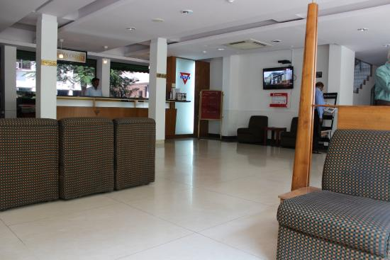 YMCA Tourist Hostel: Reception Area