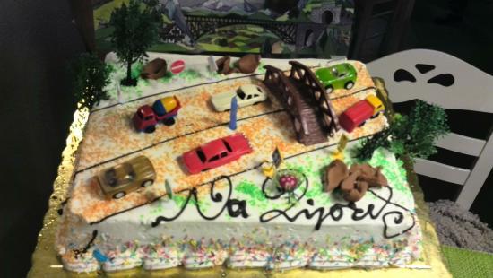 Artemis Villas: My birthday cake