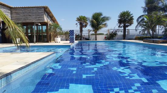Eco Resort Vento Leste: Piscina_Gym_Bar