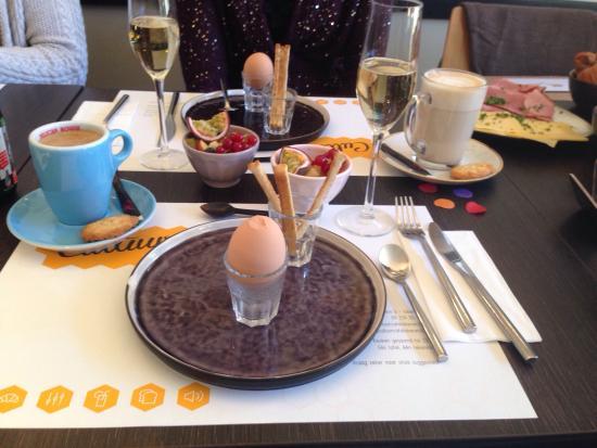 Lokeren, Bélgica: Super lekker ontbijt