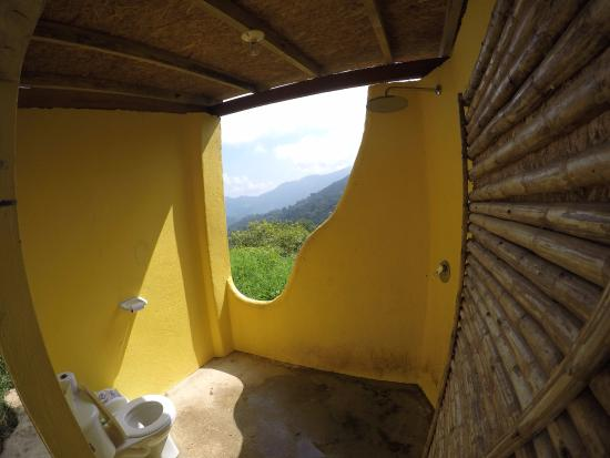 Casa Elemento: Loo with a view