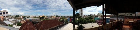 Hostel Manaus: Śniadanie z widokiem