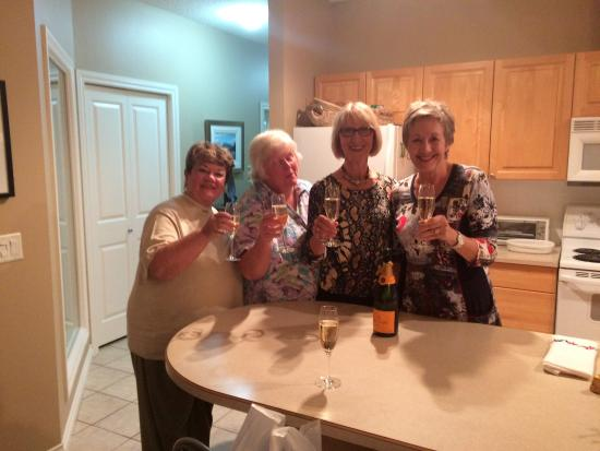 Turkey Tours Istanbul- Private Tours: The Fabulous Four toasting our Istanbul Adventure