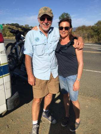 Sonoma Valley Bike Tours & Rentals: Mike and I!