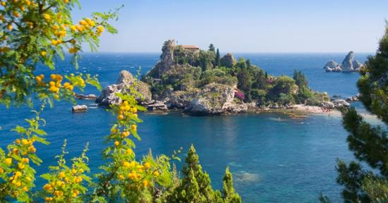 Isola Bella, Taormina, Messina, Sicilia, Italia. - Picture of ...