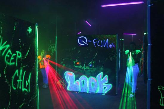Q-Fun Messina Lasergame - Underworld