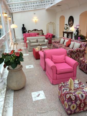 Sant'Agnello, Italia: Hotel Reception Area