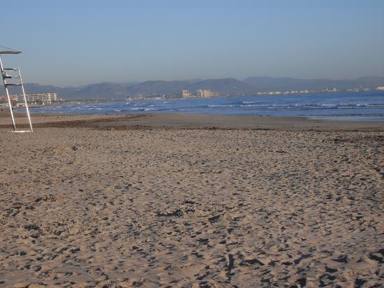 Hotel Sol Playa: playa de las arenas