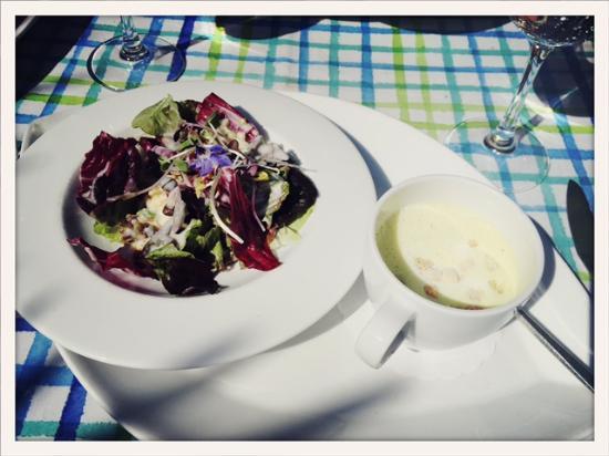 Malters, Schweiz: Vorspeise