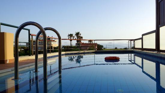 Kamisiana, Grecia: Piscine villa N°4