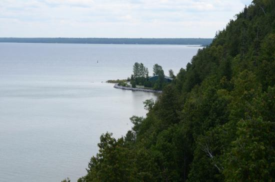 The Greens of Mackinac : View of the coast