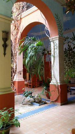 Hotel Casa San Angel: Lobby/atrium