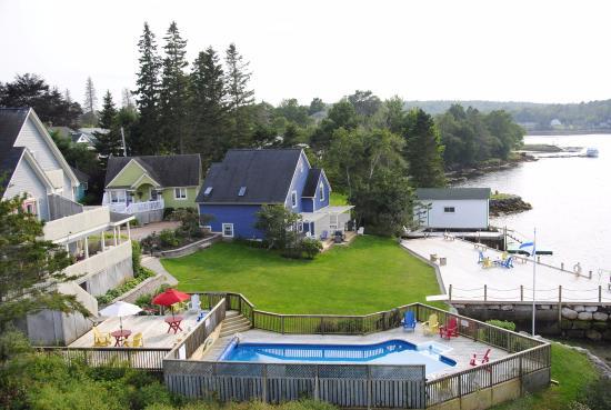 Dauphinee Inn: View from the Inn