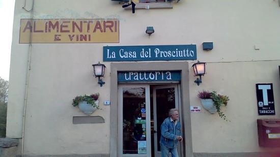 Vicchio, Italien: L'entrata del ristorante