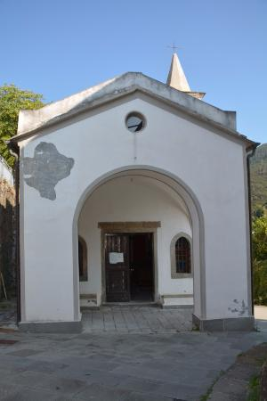 Риомаджоре, Италия: Outside the Oratory of San Rocco