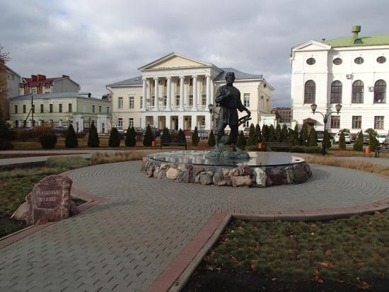 ‪Monument to Tambov Man‬