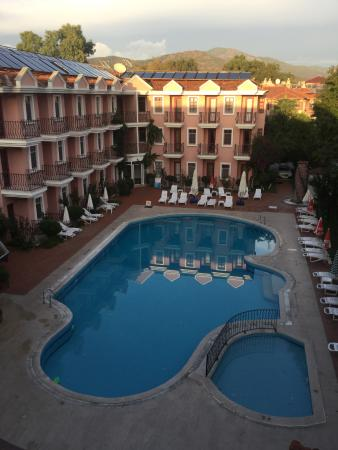 Gunes Hotel: View from balcony