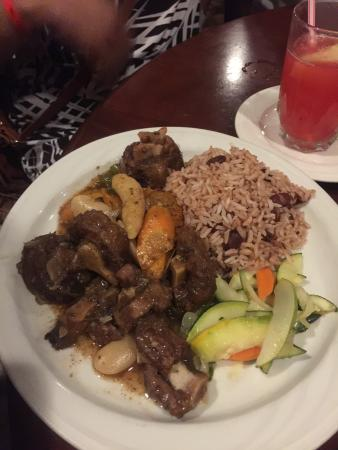 Loved the Curried Lobster and Oxtails