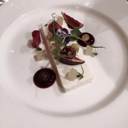 Thurlestone, UK: Goats cheese curd