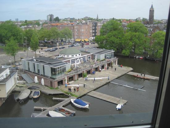 view over to hotel picture of ramada apollo amsterdam. Black Bedroom Furniture Sets. Home Design Ideas