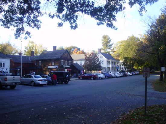 The Deerfield Inn from across the street