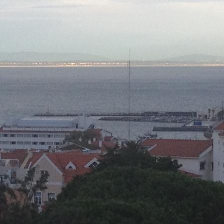 Hotel Cidadela: View of Cascais harbour from 5th floor balcony