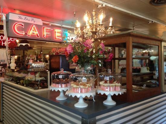 The Blue Pig Cafe Springfield Menu