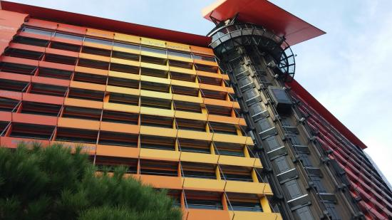 The hotel picture of silken puerta america madrid tripadvisor - Silken puerta de america ...